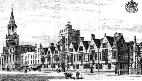 1888 – Brasenose College, Oxford