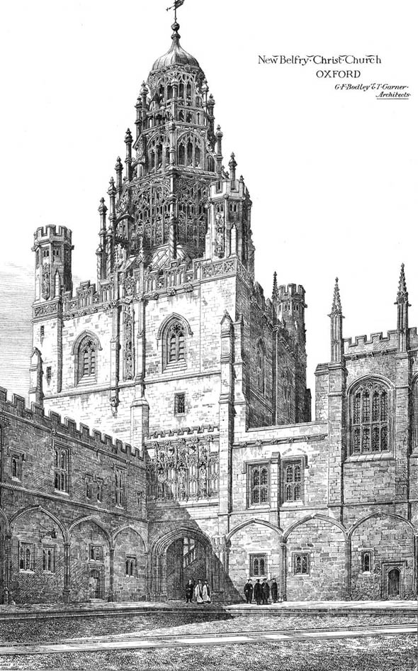 1874 &#8211; New Belfry, Christ Church, Oxford