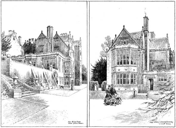 1903 – Additions to Shipton Court, Oxfordshire