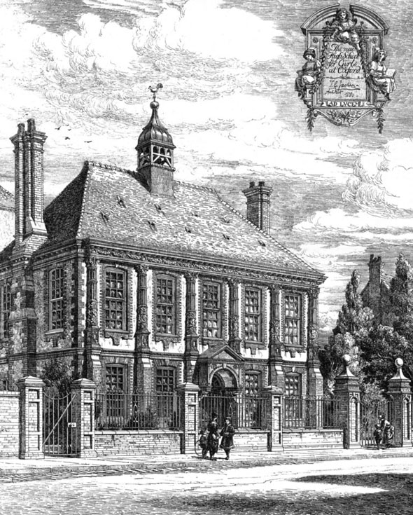 1881 &#8211; New High School for Girls, Oxford