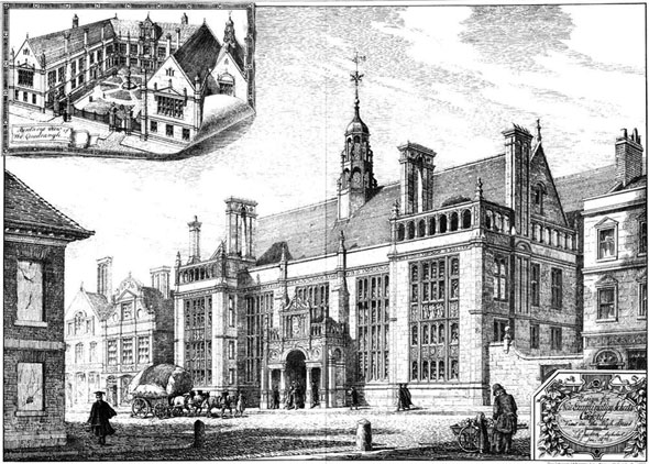 1882 new examination schools oxford architecture of