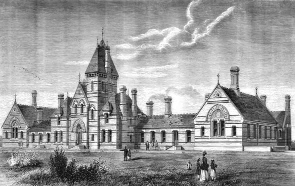 1872 – The Horton Infirmary, Banbury, Oxfordshire
