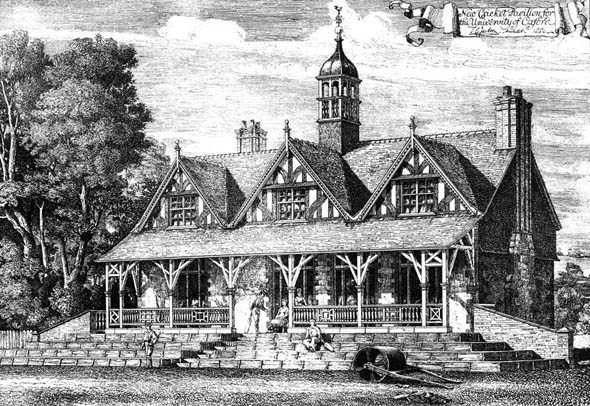 1881 – Cricket Pavilion for Oxford University, Oxfordshire