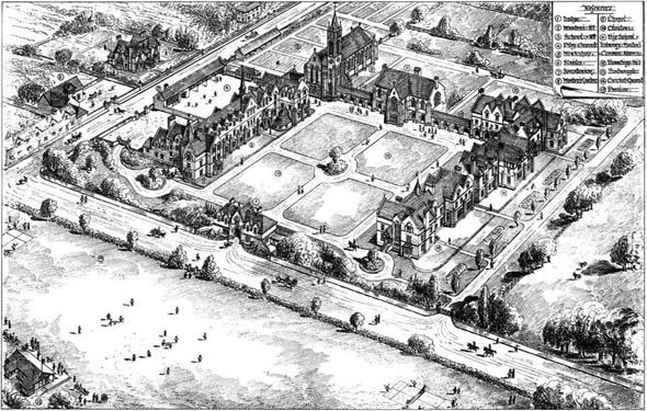 1881 &#8211; St. Edward&#8217;s School, Oxford, Oxfordshire