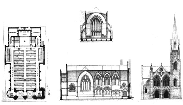 1875 – Wesleyan Chapel, Oxford, Oxfordshire