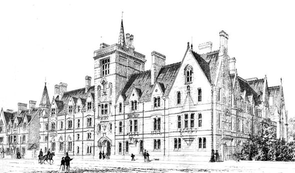 1869 – Balliol College, Oxford