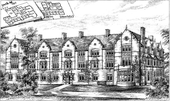 1887 &#8211; Somerville Hall, Oxford, Oxfordshire