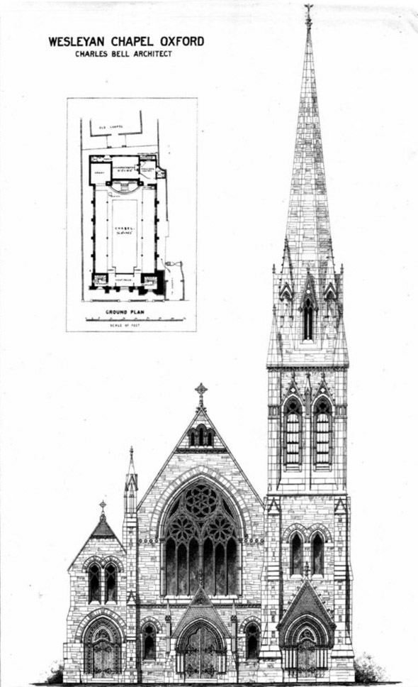 1876 &#8211; Wesleyan Chapel, Oxford