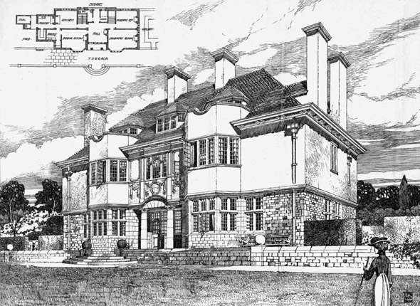 1902 &#8211; House at Oxford