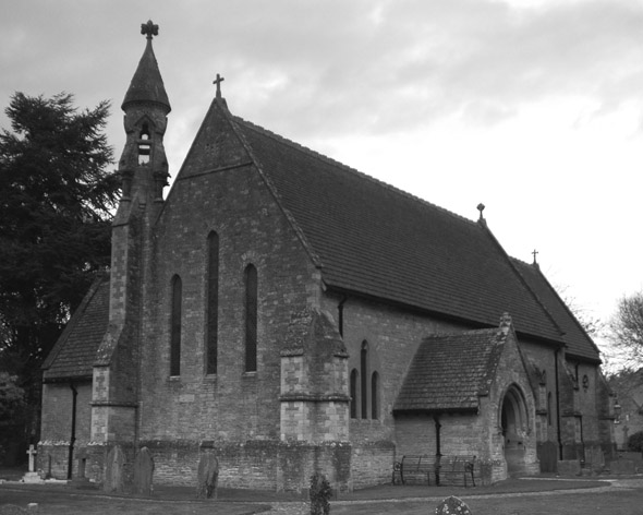 1869 &#8211; St. John the Evangelist Church, Hailey, Oxfordshire