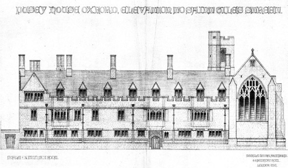 1916 – Pusey House, St. Giles Street, Oxford