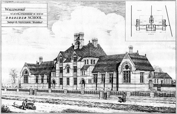 1877 &#8211; Wallingford Grammar School, Oxfordshire
