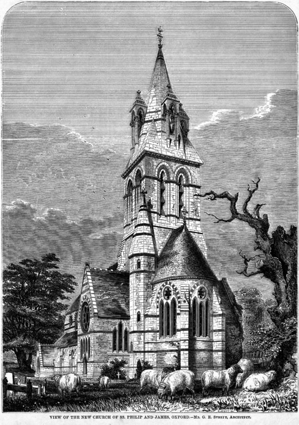 1862 – Church of SS. Phillip & James, Oxford