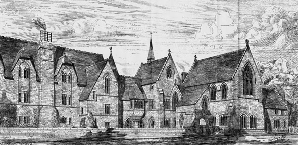 1876 &#8211; Ripon College Cuddesdon, Oxford