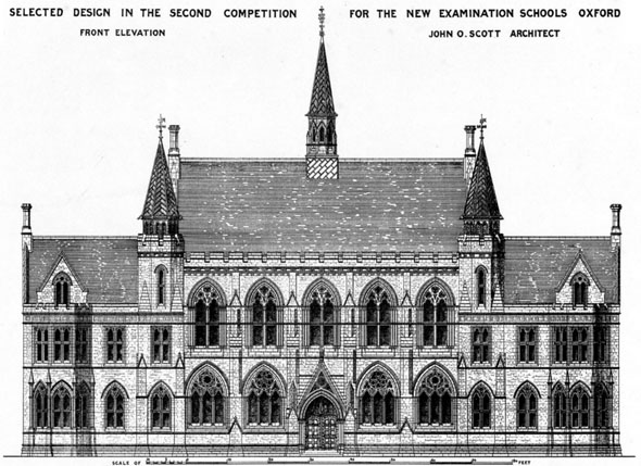 1876 &#8211; The New Examination Schools, Oxford