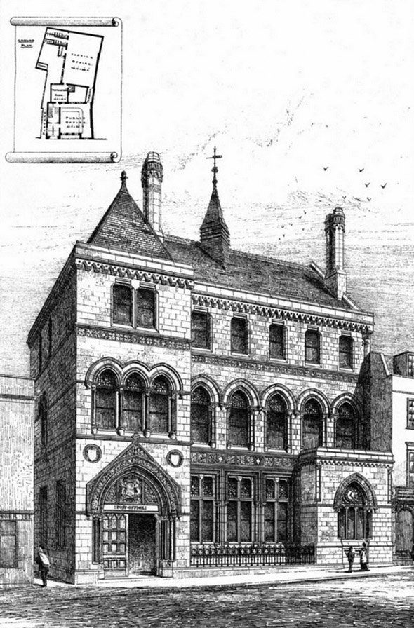 1880 – Post Office, St. Aldate's, Oxford