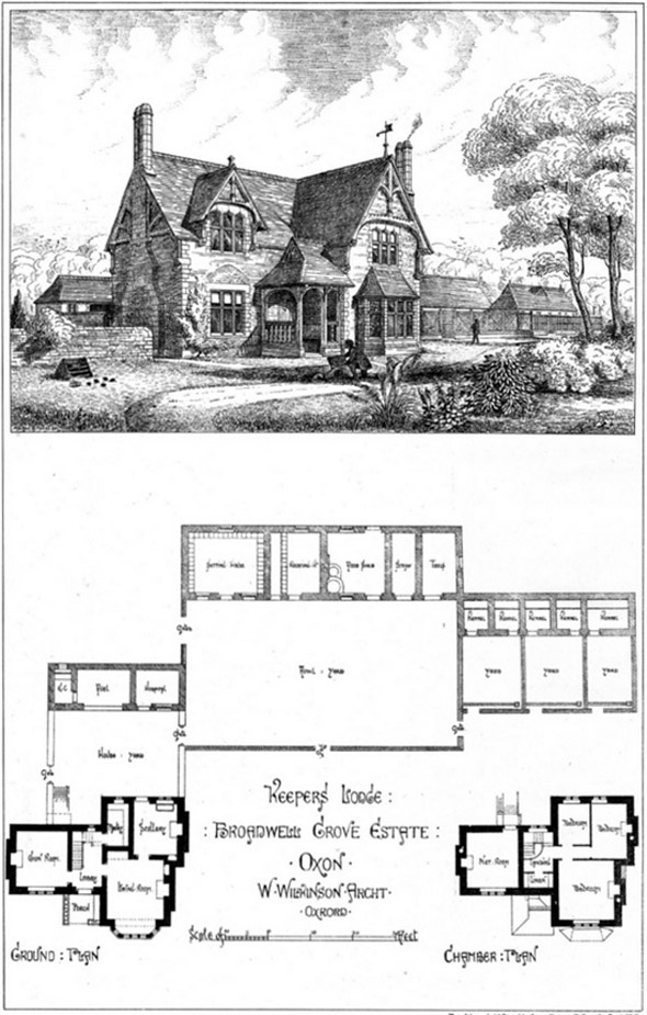 1874 &#8211; Keepers Lodge, Broadwell Grove Estate, Oxford
