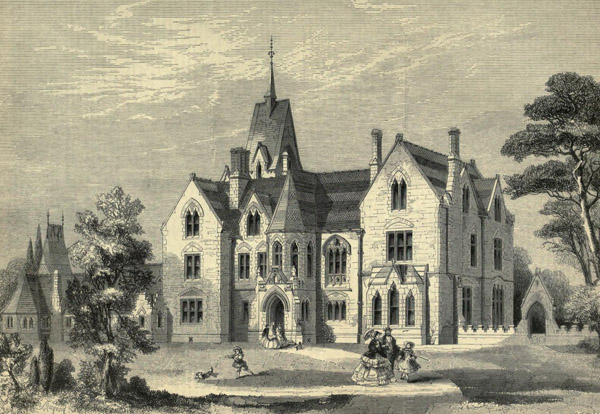 1860 &#8211; Stratton Audley Park, Oxfordshire