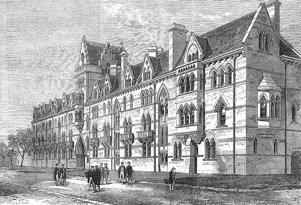 1865 – Meadow Buildings, Christ Church College, Oxford