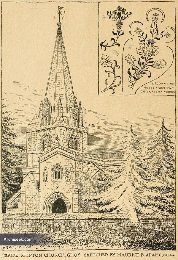 13th C. – St. Mary's Church, Shipton-under-Wychwood, Oxfordshire