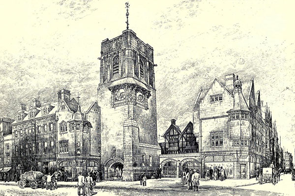 1896 – Proposal for Carfax Tower, Oxford