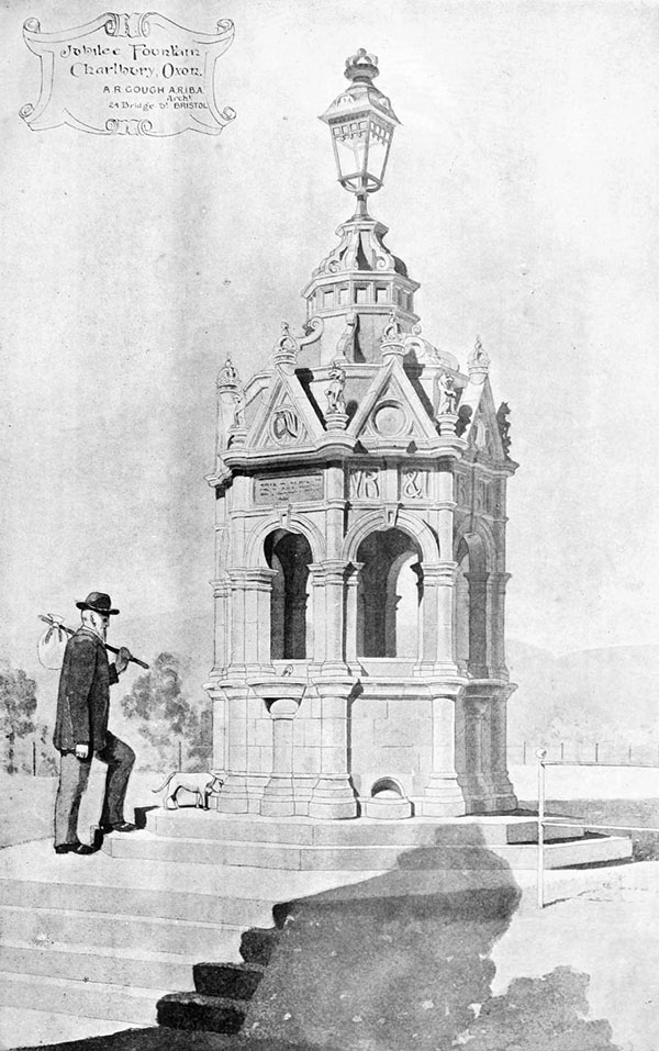 1899 – Jubilee Fountain,  Charlbury, Oxfordshire