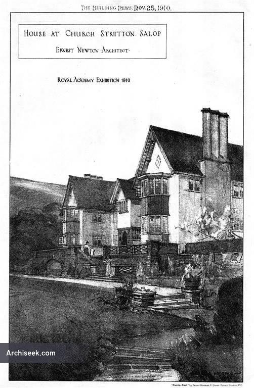 1910 – House at Church Stretton, Shropshire