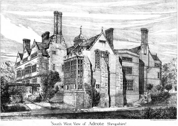 1878 &#8211; Adcote, Shropshire
