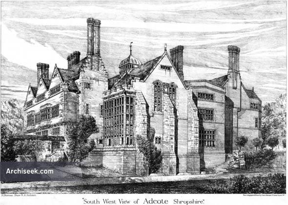 1878 – Adcote, Shropshire