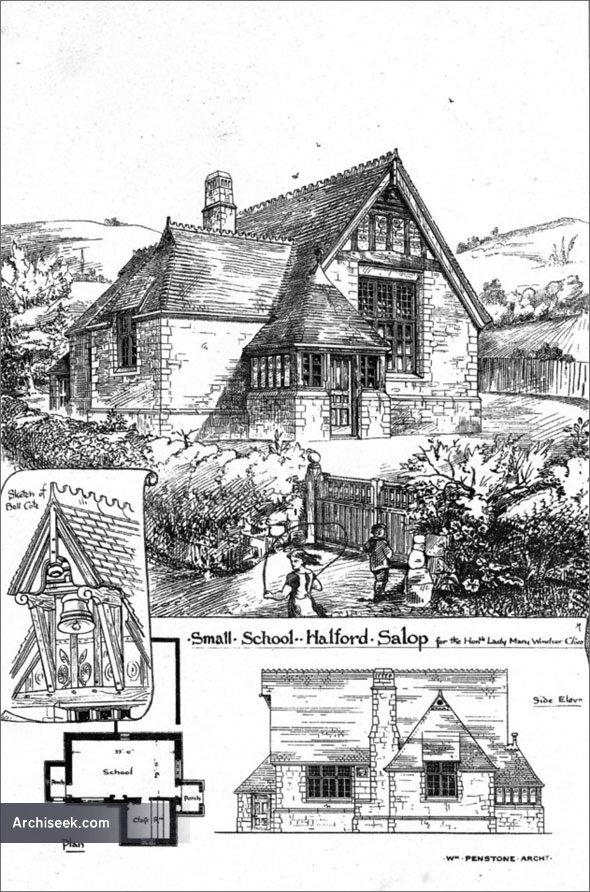 1875 – Small School, Halford, Shropshire