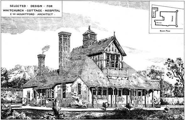 1885 – Whitchurch Cottage Hospital, Shropshire