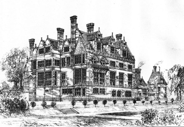 1881 &#8211; Cloverley Hall, Shropshire