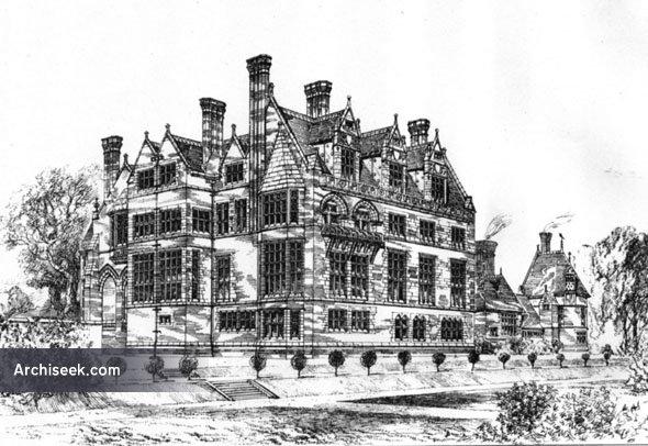 1881 – Cloverley Hall, Calverhall, Shropshire