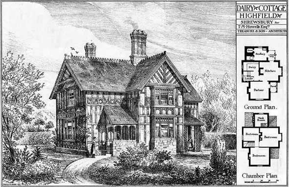 1879 – Dairy Cottage, Highfield, Shrewsbury, Shropshire