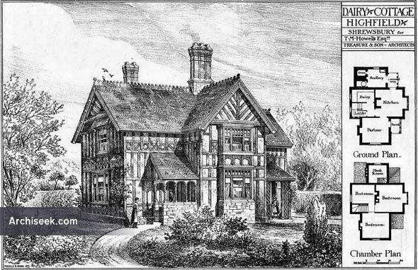 1879 – Dairy Cottage, Highfield, Shrewsbury, Shropshire