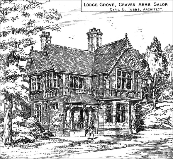 1886 – Lodge Grove, Craven Arms, Shropshire