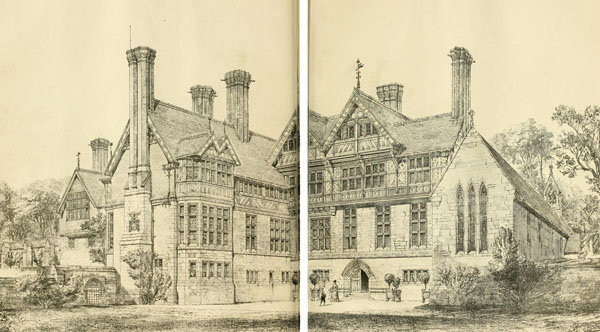 1871 &#8211; Preen Manor House, Church Preen, Shropshire