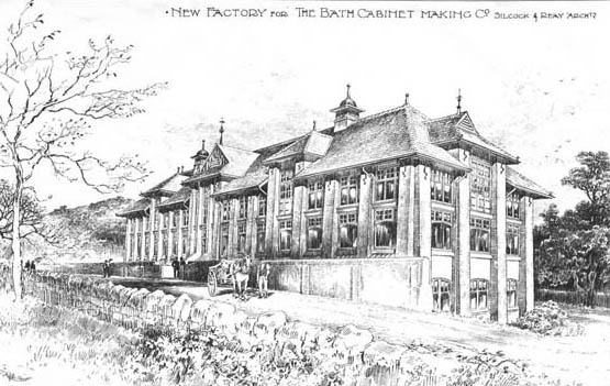 1898 – Bath Co-operative Cabinet Makers' Company Factory, Somerset