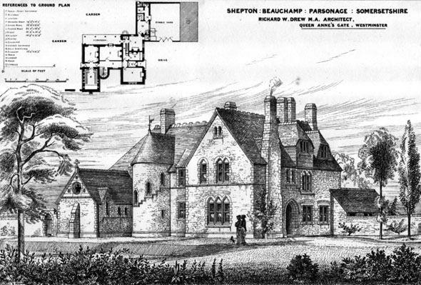 1873 &#8211; Shepton Beauchamp Parsonage, Somerset