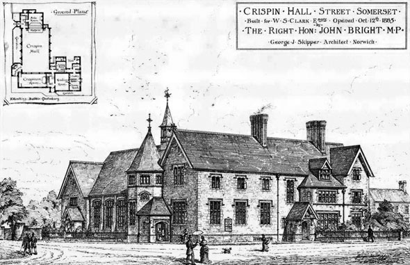 1885 &#8211; Crispin Hall, Street, Somerset