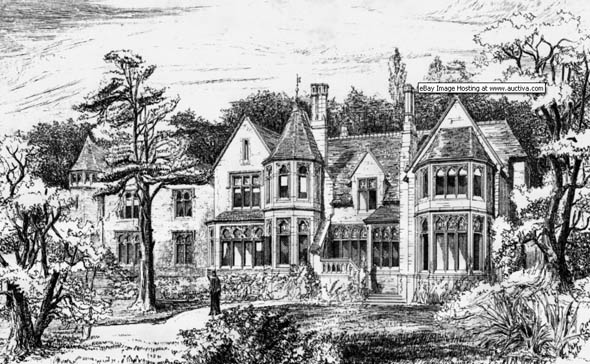 1880 – Cadbury House, Somerset