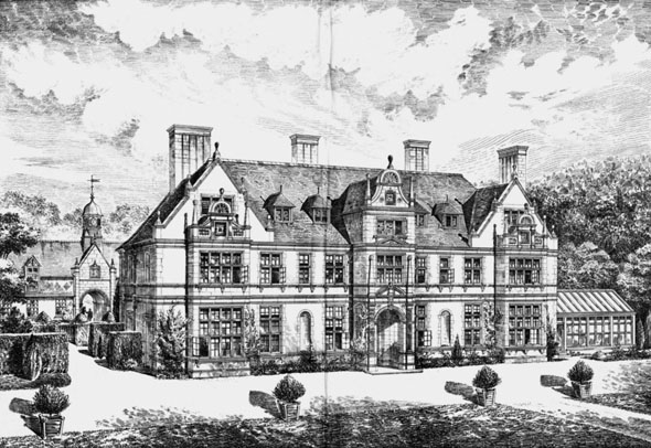 1884 &#8211; Knowle, Dunster, Somerset
