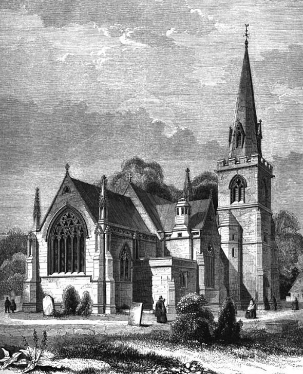 1862 &#8211; Church, Ilminster, Somerset