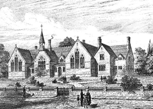 1875 &#8211; Langport and Huist Schools, Somerset