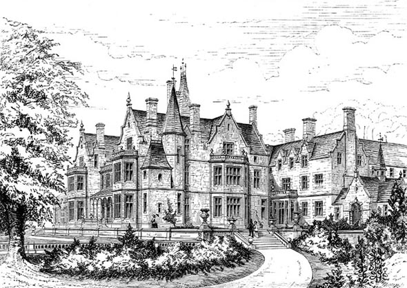 1855 &#8211; Orchardleigh Park, Somerset