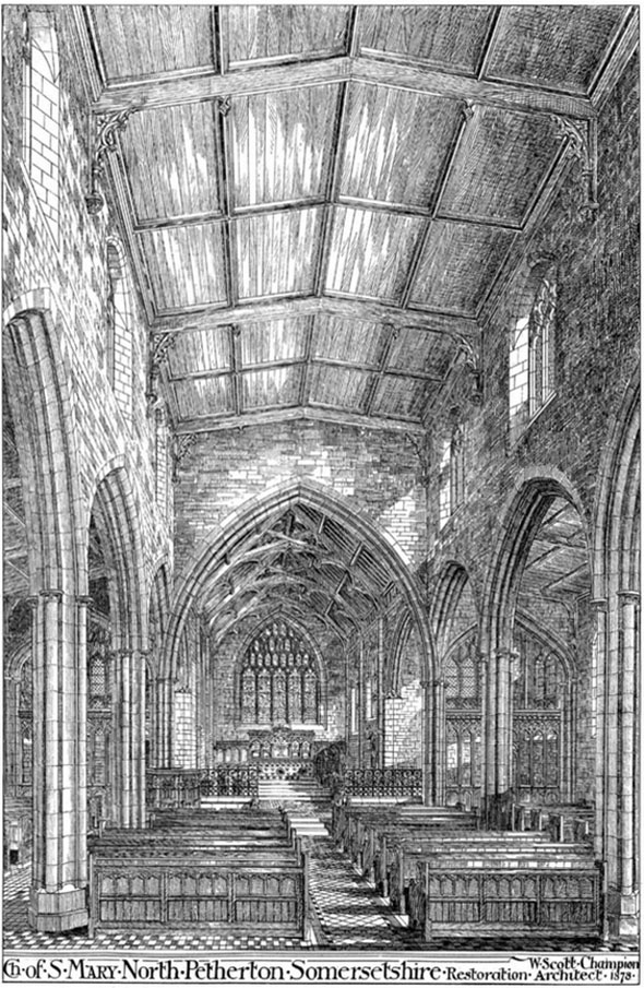 1878 &#8211; Restoration of Church of St.Mary, North Petherton, Somerset