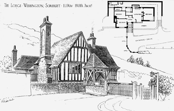 1884 &#8211; The Lodge, Webbington, Somerset