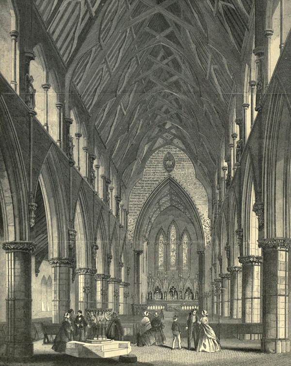 1855 &#8211; Church of St. John the Baptist, Bedminster, Somerset