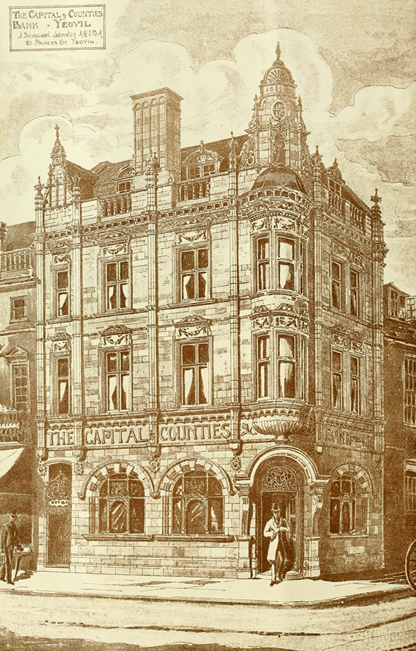 1897 – The Capital and Counties Bank, Yeovil, Somerset