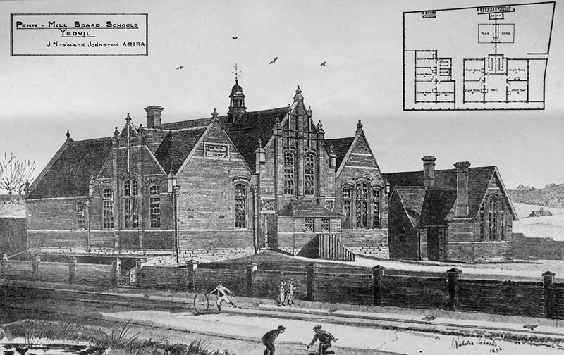 1898 – Board Schools, Yeovil, Somerset